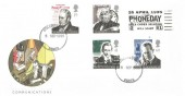 1995 Communications, Royal Mail FDC, 16th April 1995 Phone Day Area Codes Starting 0 will start 01 Colchester Slogan