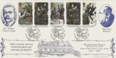 1993 Sherlock Holmes, Bradbury Official FDC, Windlesham Manor Crowborough H/S, Home of Sir Arthur Conan Doyle 1907 - 1930