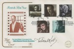 1985 British Film Year, Cotswold Official FDC, David Niven Campaign for Motor Neurone Disease Association Northampton H/S. Signed by Deborah Kerr.