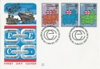 1973 European Communities, Benham Engraved FDC, Philatelic Bureau Edinburgh H/S.