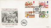 1983 British Fairs, British Library No.45 FDC, First Day of Issue Nottingham H/S.