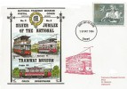1984 Europa, Dawn National Tramway Museum FDC, Derby FDI.