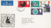 1967 British Discoveries, Britannia FDC, London WC FDI.