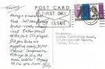1964 Forth Road Bridge, Printed Postcard, 3d First Day of Issue Edinburgh Slogan Cancel.