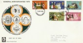 1970 General Anniversaries FDC with Arbroath FDI