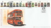 2001 Buses, Buckingham Covers No.8 Official FDC, Buses Britain's Favourite Magazine London SW H/S.
