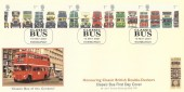 2001 Buses, Covercraft Official FDC, Classic Buses Edinburgh H/S.