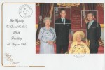 2000 HM Queen Mother's 100th Birthday, Special Delivery Cotswold FDC, Glamis Forfar Angus cds.