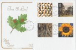 2000 Tree & Leaf, Special Delivery Cotswold FDC, Eden PO Carrickfergus cds.