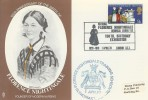 1970 General Anniversaries, Stamp Publicity Card FDC, National Florence Nightingale Memorial Committee 150th Birthday Exhibition London SE1 H/S.