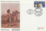 1970 General Anniversaries, National Army Museum 93rd Foot Sutherland Highlanders Official FDC, The Crimean War British Forces 1206 Postal Service H/S.