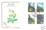 1979 British Wild Flowers, Cotswold Official FDC, Bath Floral City Exhibition H/S.