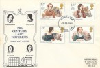 1980 Famous People, Historic Relics FDC, London SW FDI.