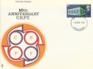 1969 Notable Anniversaries, 10th Anniversary of CEPT Trident FDC, Gloucester FDI.