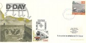 1994 D Day, Mid Hants Railway FDC, 25p Railway Letter Stamp, Royal Mail GU34 1AA cds.