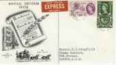 1960 General Letter Office GLO FDC with Lombard Street cds