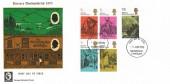 1970 Literary Anniversaries, Cameo FDC, Cockermouth Cumberland FDI.