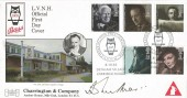 1985 British Film Year, Bass Charrington Havering Official FDC, Charrington Presidential Year L.V.N.H Denham Village Uxbridge H/S. Signed by Sir John Mills.