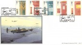 2002  Pillar to Post, BHC Tallboy Raid Official FDC, Lossiemouth 617Squadron H/S.