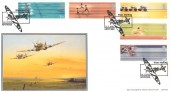 2002 Commonwealth Games, BHC Spitfire Official FDC, Spitfire West Malling H/S.