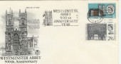 1966 Westminster Abbey FDC with Scarce Westminster Abbey 900th Anniversary Year