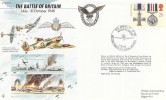 1990 Gallantry, RAF Biggin Hill, Forces FDC, 50th Anniversary of the Battle of Britain BF2232PS H/S.