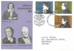 1971 Literary Anniversaries, Universal FDC, First Day of Issue London EC H/S.