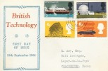 1966 British Technology, Illustrated FDC, Brentwood Essex cds.