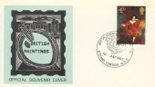 1967 Paintings, set of 3 P. R. O'Connell Official First Day Covers, Art on Stamps Exhibition Strand London WC2 H/S.