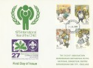 1979 Year of the Child, 27th World Scout Conference Birmingham FDC, Birmingham FDI.