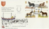 1978 Shire Horse Society RNLI Clacton Pilgrim Official FDC, RNLI Clacton 1878-1978, Clacton on Sea Essex H/S