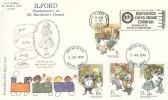 1979 Year of the Child, Post Office FDC, Barnardo's caress about Children Ilford Slogan+ Ilford FDI.