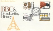 1972 BBC & Broadcasting History, Post Office FDC, Marconi Kemp Experiments Chelmsford Essex H/S.