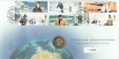 2003 Extreme Endeavours, Royal Mint Commemorative Cover, £1 Coin Plymouth H/S.