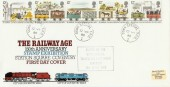 1980 Railways DF FDC Down Special TPO CDS, Down Special TPO cds