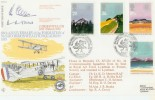 1983 Commonwealth RFDC.18 Official FDC, Signed