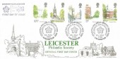 1980 London Landmarks, Bradbury LFDC1 FDC, Leicester Philatelic Society Celebrate 75th Anniversary H/S.