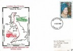 1980 Queen Mother's 80th Birthday, Fire Services National Benevolent Fund Official FDC, London SE1 FDI.