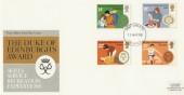 1981 Duke of Edinburgh Awards  Scarce Port Sunlight H/S FDC