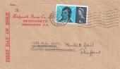 1966 Robert Burns, Bridgnorth Stamp Co. Ltd FDC, Bridgnorth Salop Cancel.