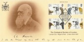 1982 Charles Darwin Zoological Society of London Official FDC, 1809 -1882 Charles Darwin Centenary London NW1 H/S