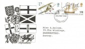 1968 British Anniversaries, Illustrated FDC, Edinburgh 1 FDI.