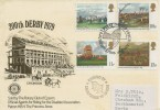 1979 Horse Racing, Rotary Club of Epsom FDC, First Day of Issue Epsom Surrey H/S.
