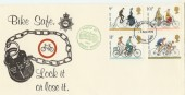 1978 Cycling Surrey Police 'Bike Safe' Campaign FDC