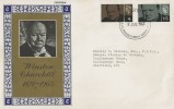 1965 Sir Winston Churchill, Daily Telegraph FDC, GPO Philatelic Bureau London EC1 FDI.