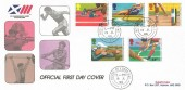 1986 Commonwealth Games Edinburgh, SuperCovers FDC, House of Lords SW1 cds.