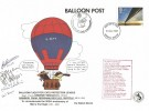 1983 Engineering, Cats Protection League, Waveney Branch, Balloon Post FDC, 16p only, Norwich FDI.
