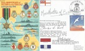 1995 50th Anniversary of Victory in the Far East Cover, Signed by Countess Mountbatten of Burma, Victory in the Far East Portsmouth H/S.