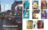 2011 Musicals, GBCovers GB160 Official FDC, Drury Lane London WC2B 5JF H/S.