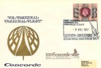 1977 First Scheduled Commercial Concorde Flight London - Singapore, Concorde cover, London - Singapore Heathrow Airport London Hounslow H/S.